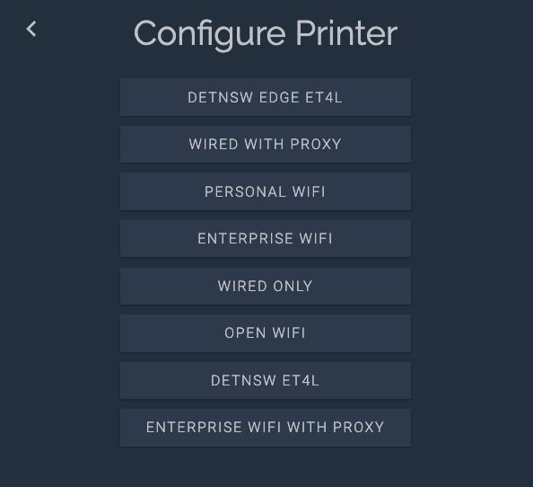 BuildBee configure printer