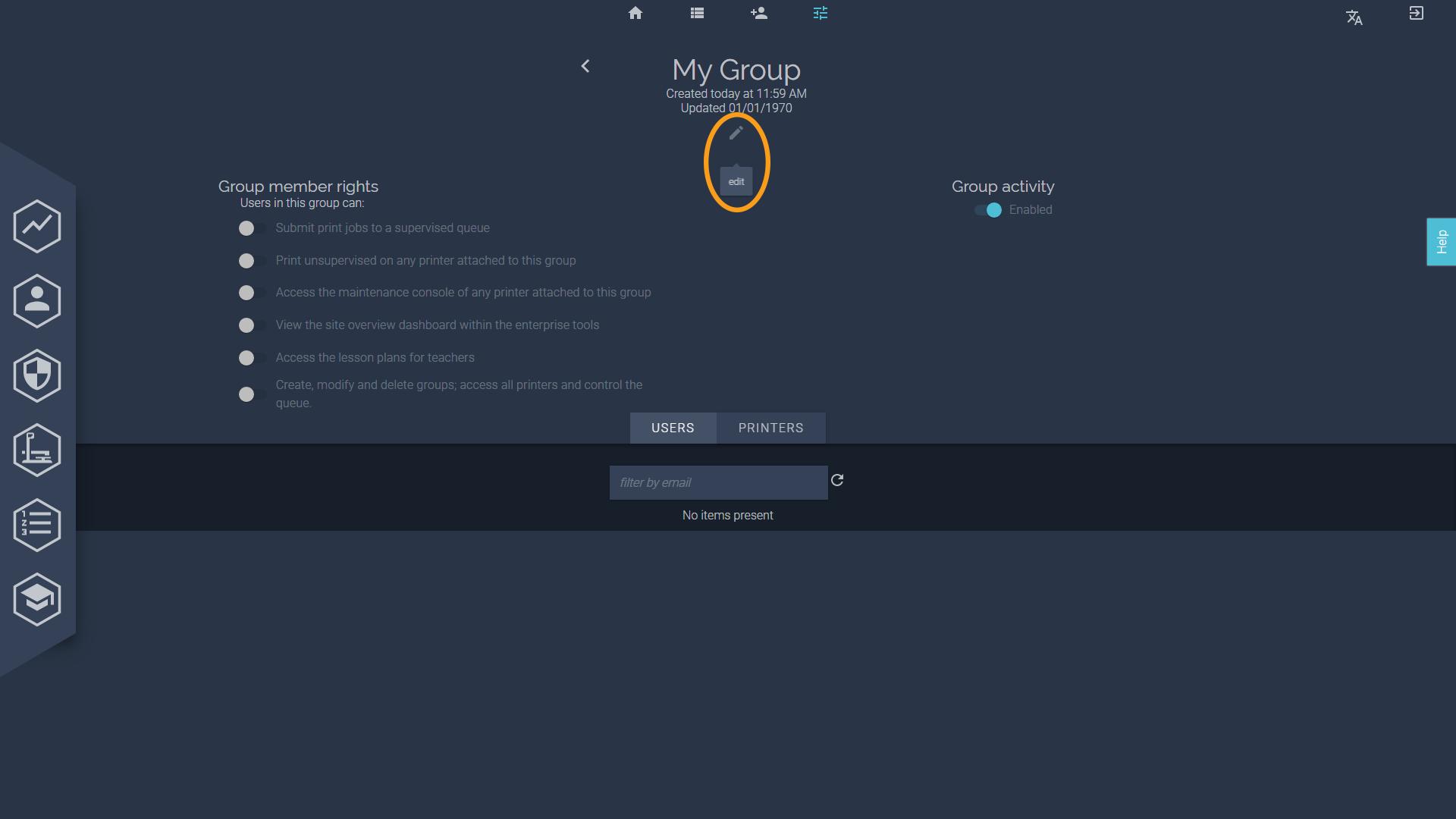 BuildBee edit group